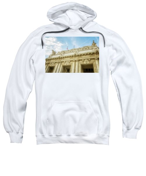Milan Italy Train Station Facade Sweatshirt