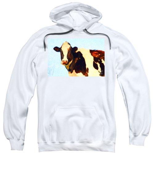 Milk Cow . Photoart Sweatshirt