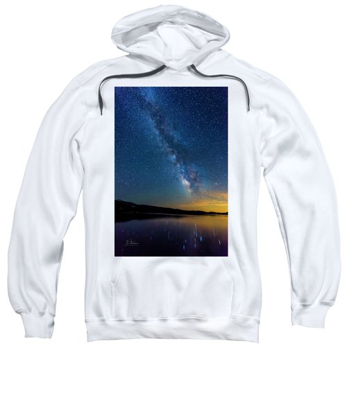 Sweatshirt featuring the photograph Milky Way 6 by Jim Thompson