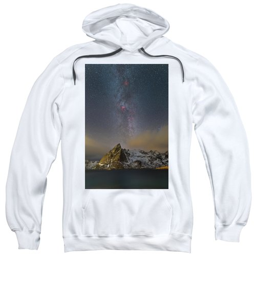 Milky Way In Lofoten Sweatshirt