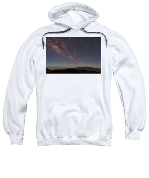 Milky Way Over Mauna Loa Sweatshirt