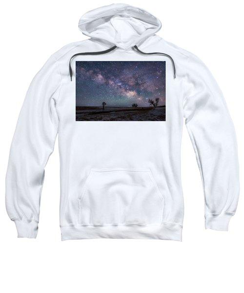 Milky Way Over The Prairie Sweatshirt