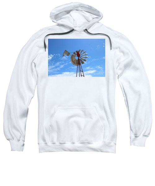 Sweatshirt featuring the photograph Milled Wind by Stephen Mitchell