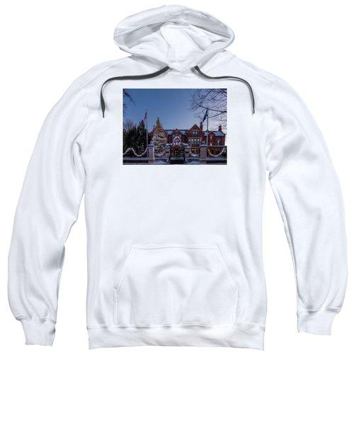 Christmas Lights Series #6 - Minnesota Governor's Mansion Sweatshirt