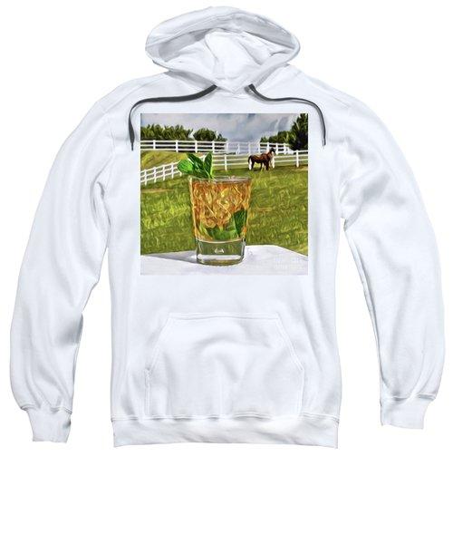 Mint Julep Kentucky Derby Sweatshirt