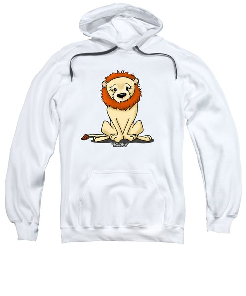 Lion Peaceful Reflection  Sweatshirt