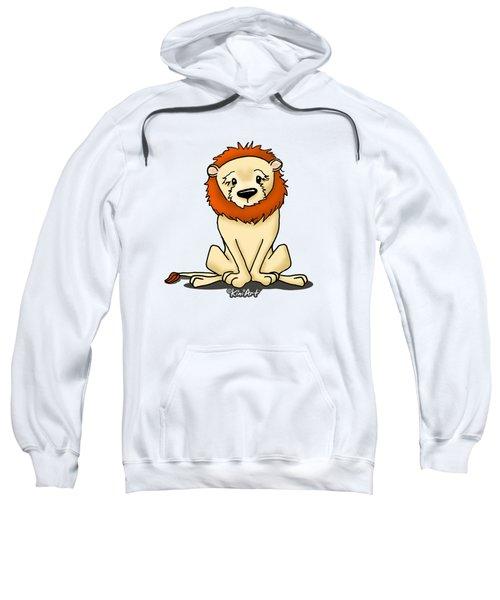 Lion Peaceful Reflection  Sweatshirt
