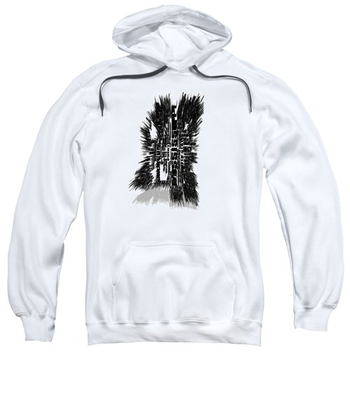 Mississippi Typographic Map 4c Sweatshirt