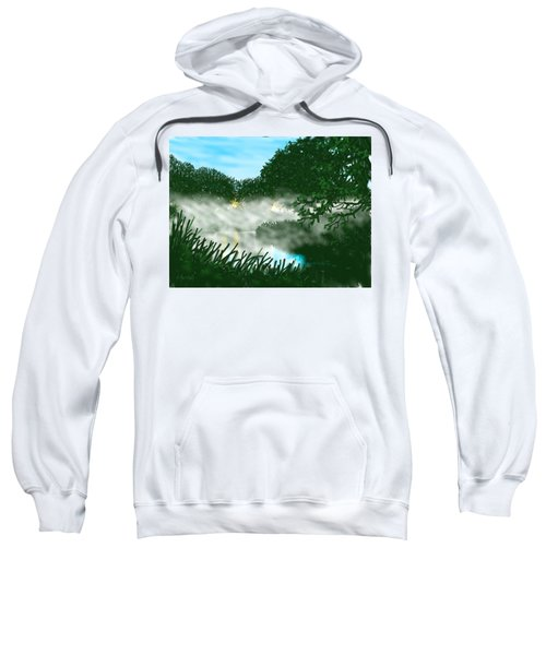Mist On The River Ouse Sweatshirt