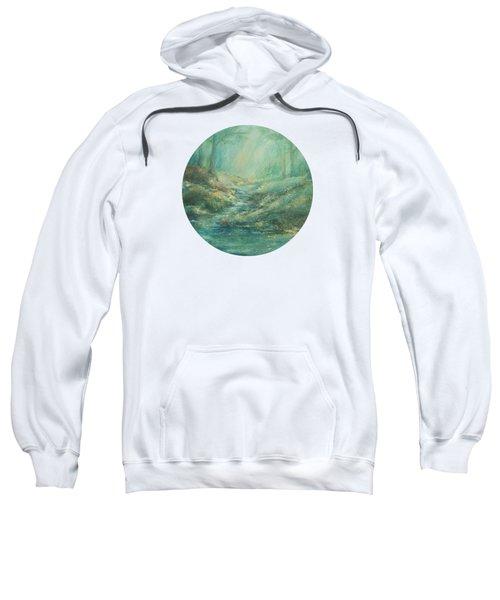 The Misty Forest Stream Sweatshirt