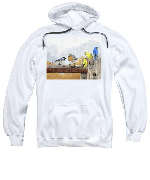 Misty Morning Meadow Sweatshirt