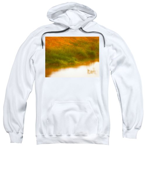 Misty Yellow Hue -lone Jacana Sweatshirt