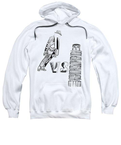 Mj Vs Pisa Sweatshirt by Serkes Panda
