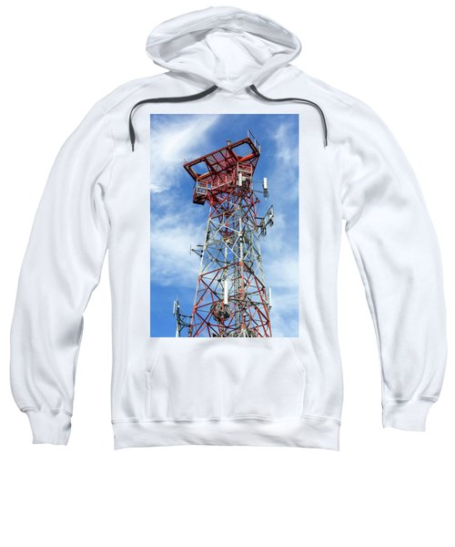 Mobile Phone Cellular Tower Sweatshirt