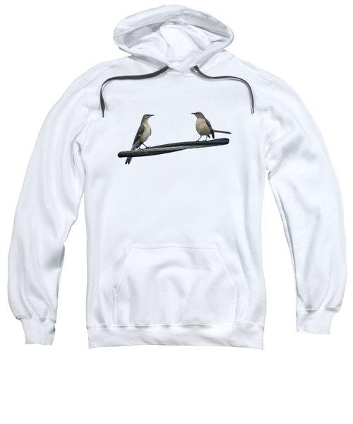 Mockingbirds On The Wire Sweatshirt
