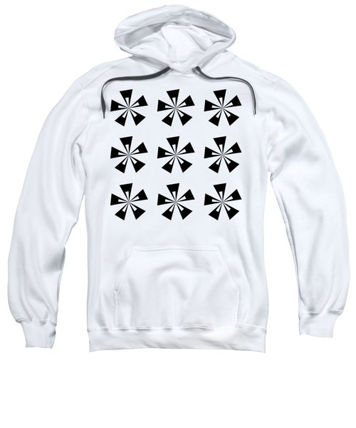 Mod Flowers Group  Sweatshirt