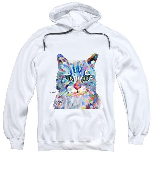 Modern Cat Sweatshirt