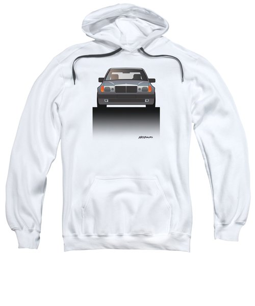 Modern Euro Icons Series Mercedes Benz W124 500e Split  Sweatshirt