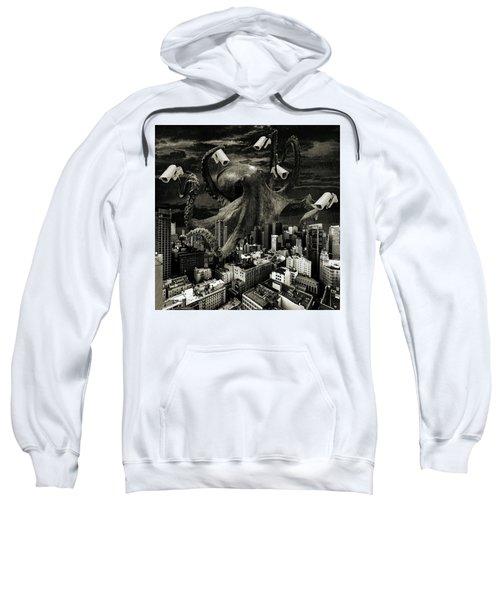 Modern Freedom Black And White Sweatshirt