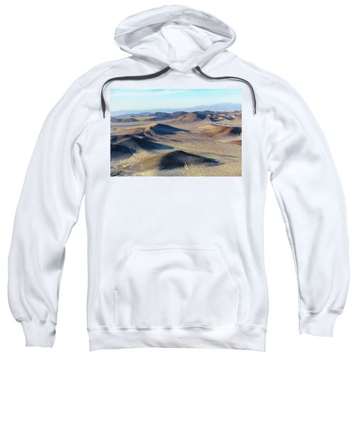 Sweatshirt featuring the photograph Mojave Desert by Jim Thompson