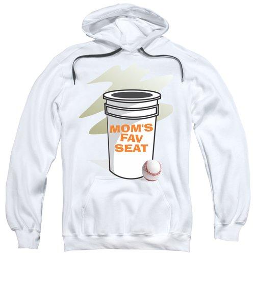 Mom's Favorite Seat Sweatshirt by Jerry Watkins
