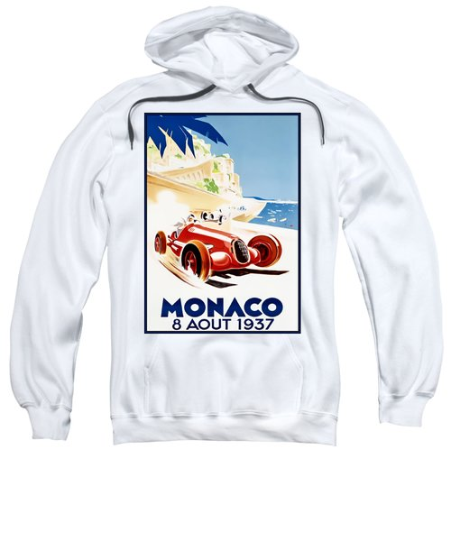 Monaco Grand Prix 1937 Sweatshirt