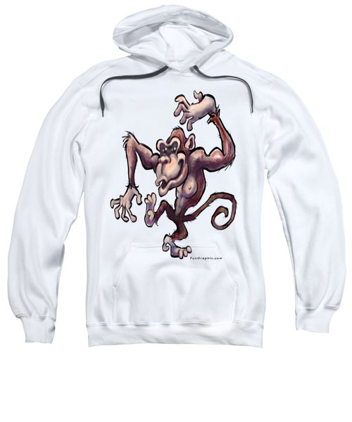 Monkey Sweatshirt by Kevin Middleton