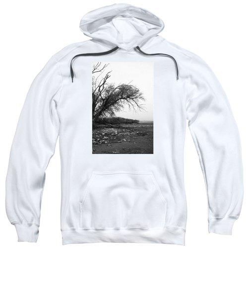 #monochrome #lake #landscape  #stausee Sweatshirt