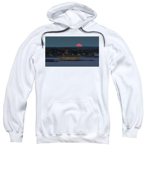 Moonrise Over Ft. Gorges Sweatshirt