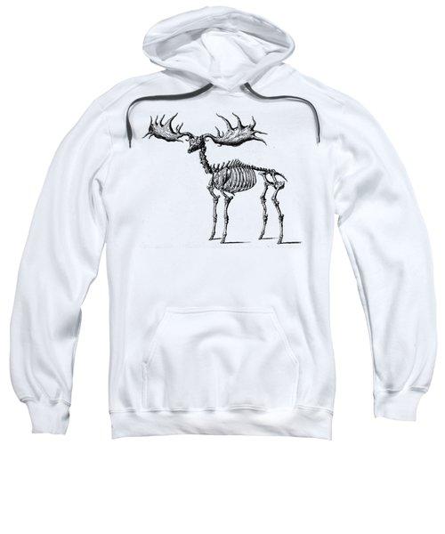 Moose Skeleton T Shirt Design Sweatshirt
