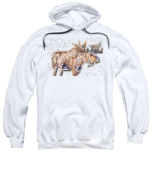 Moose-sticks Sweatshirt