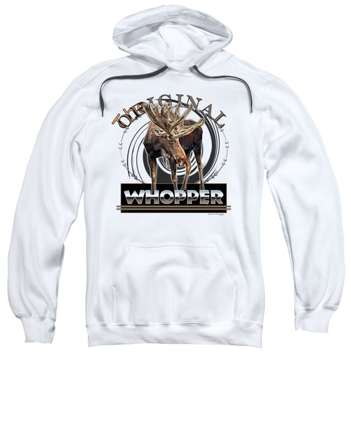 Moose Whooper Sweatshirt