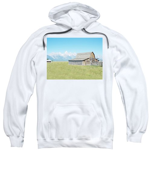 Mormon Row Barn - Grand Tetons Sweatshirt