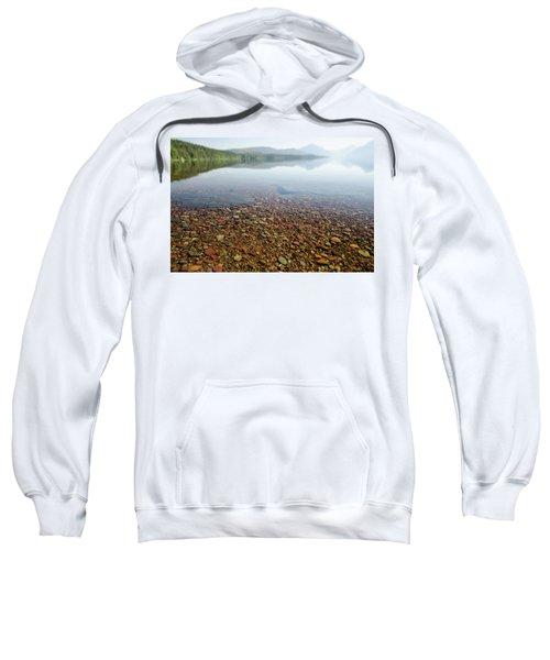 Morning At Lake Mcdonald Sweatshirt