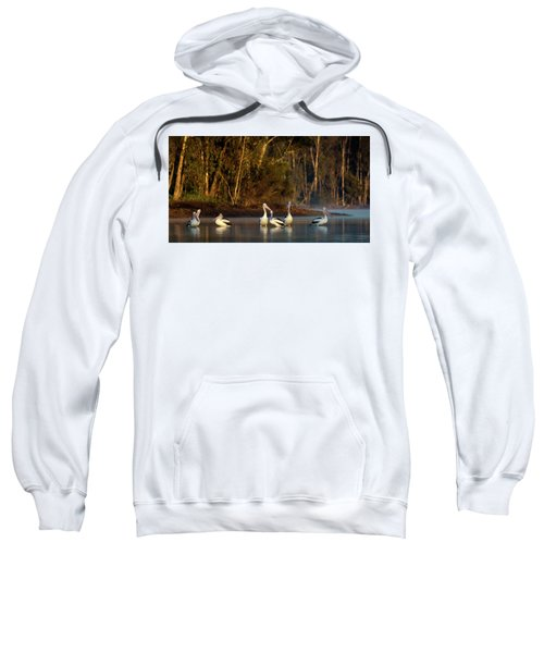 Morning On The River Sweatshirt