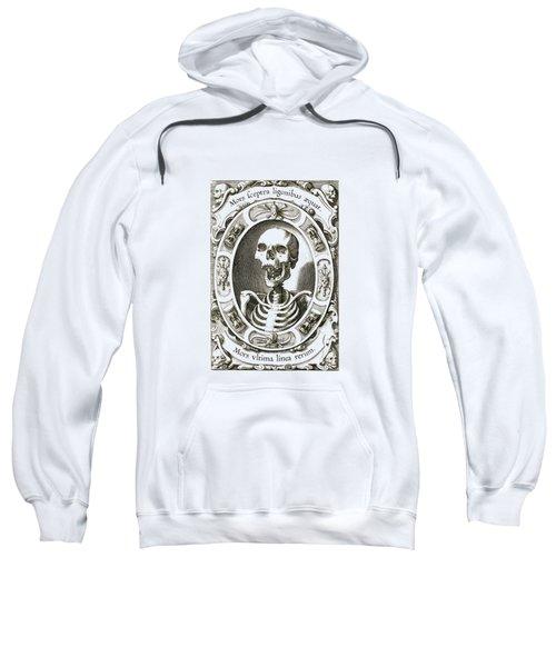 Mors Ultima Linea Rerum - Egbert Van Panderen Engraving  Sweatshirt