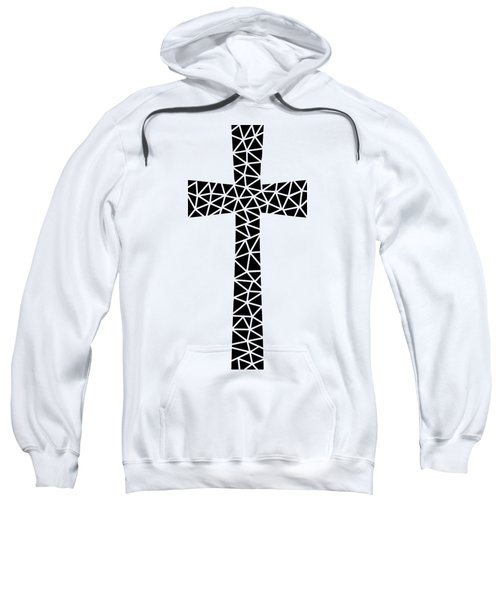 Mosaic Cross  Sweatshirt