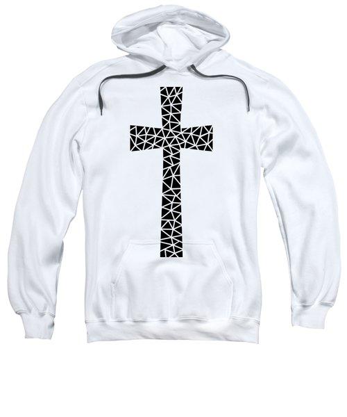 Mosaic Cross  Sweatshirt