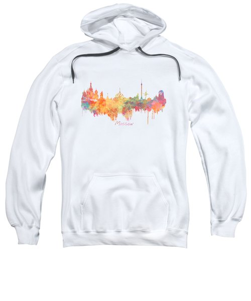 Moscow Russia Skyline City Sweatshirt