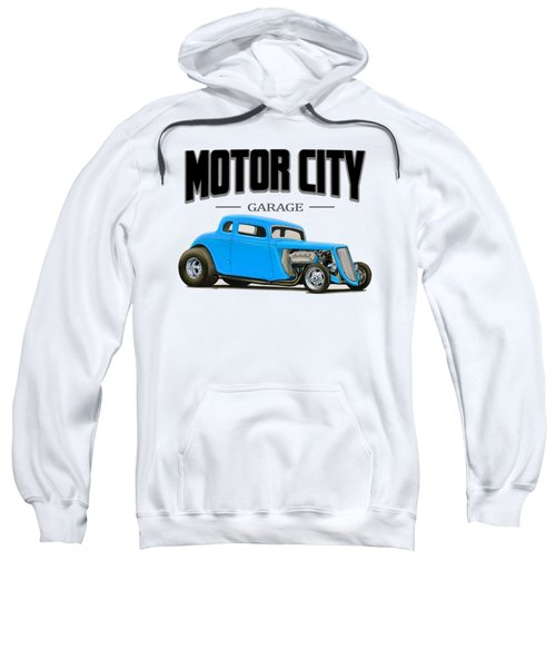 Motor City Hot Rod Sweatshirt