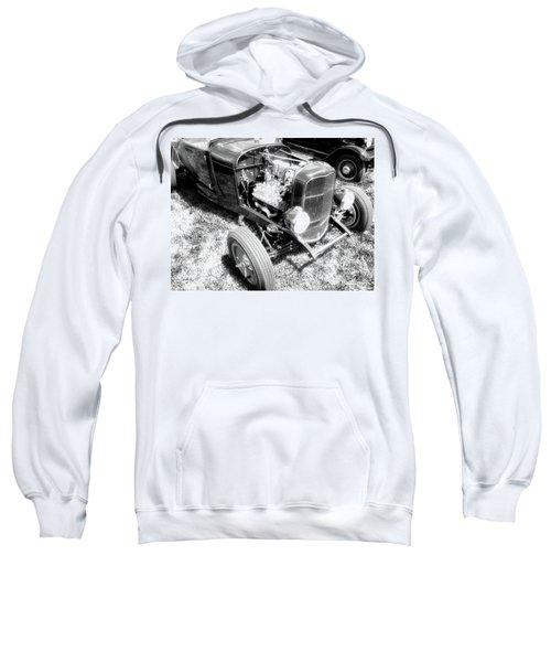 Motor Wheel Bw Sweatshirt