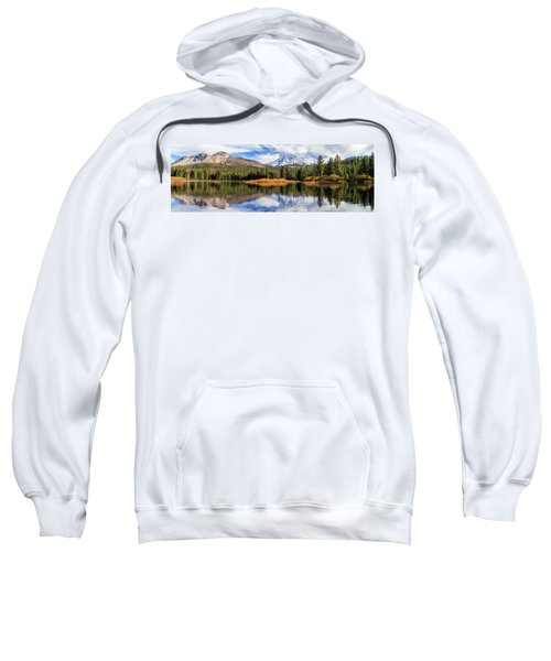 Mount Lassen Reflections Panorama Sweatshirt