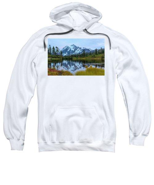 Mount Shuksan And Picture Lake Sweatshirt