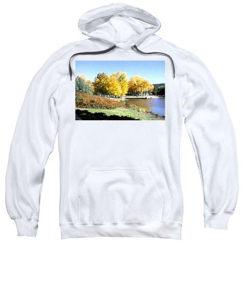 Mountain Lake Autumn Sweatshirt