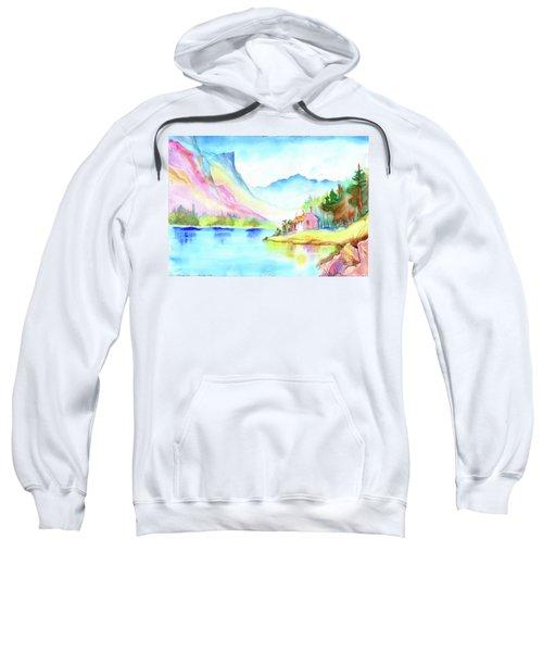 Mountain Lake Sweatshirt