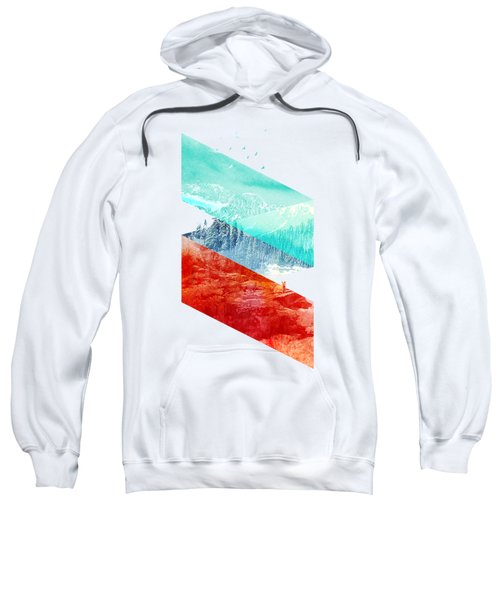 Mountain Stripes Sweatshirt