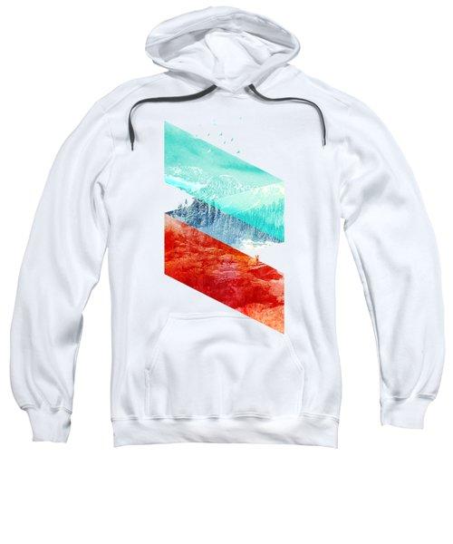 Mountain Stripes Sweatshirt