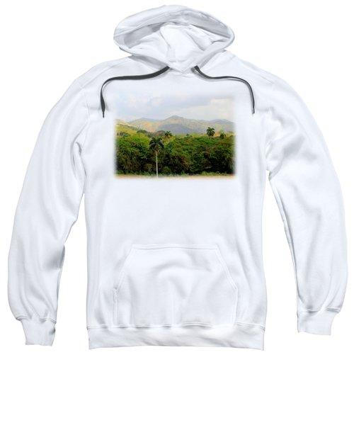 Mountains And Palms Sweatshirt