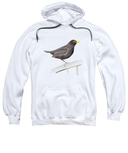 Ms. Blackbird Is Brown Sweatshirt