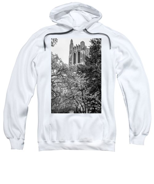 Msu Beaumont Tower Black And White 3 Sweatshirt